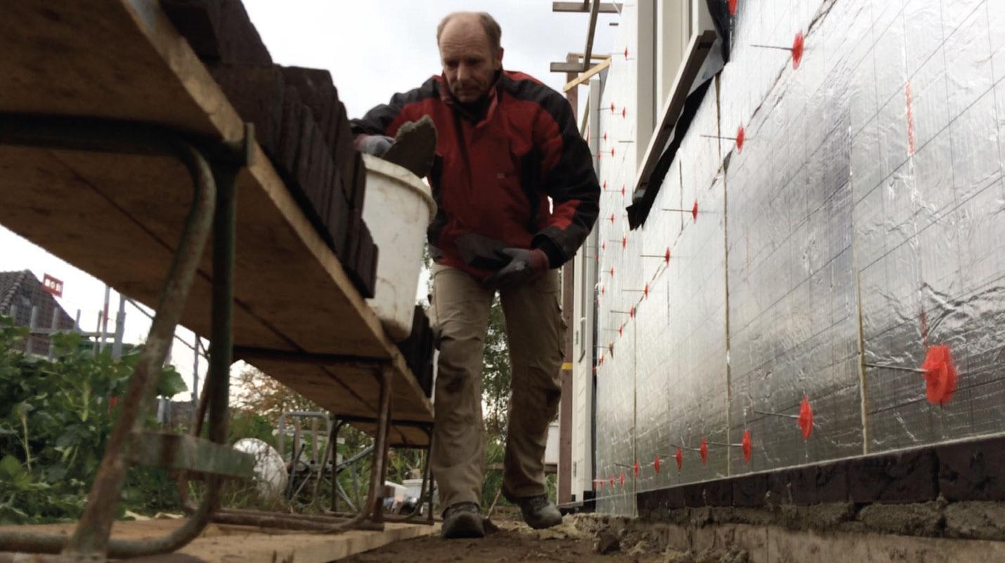 Rob Gerritsen 25 jaar in dienst bij Bouwbedrijf Versteegden
