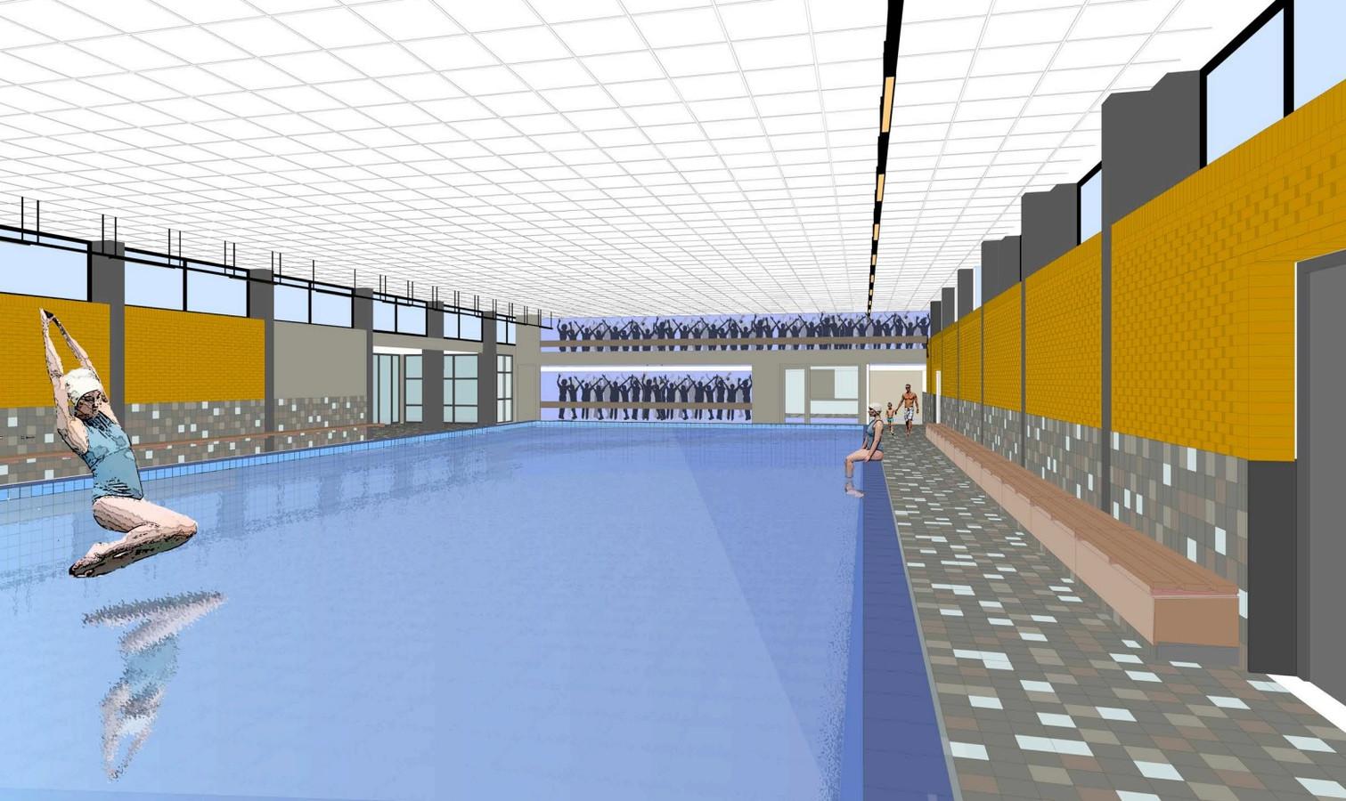 Vernieuwd zwembad Gemert in september klaar: 'Sportcentrum kan er straks weer een jaar of 20 tegenaan'