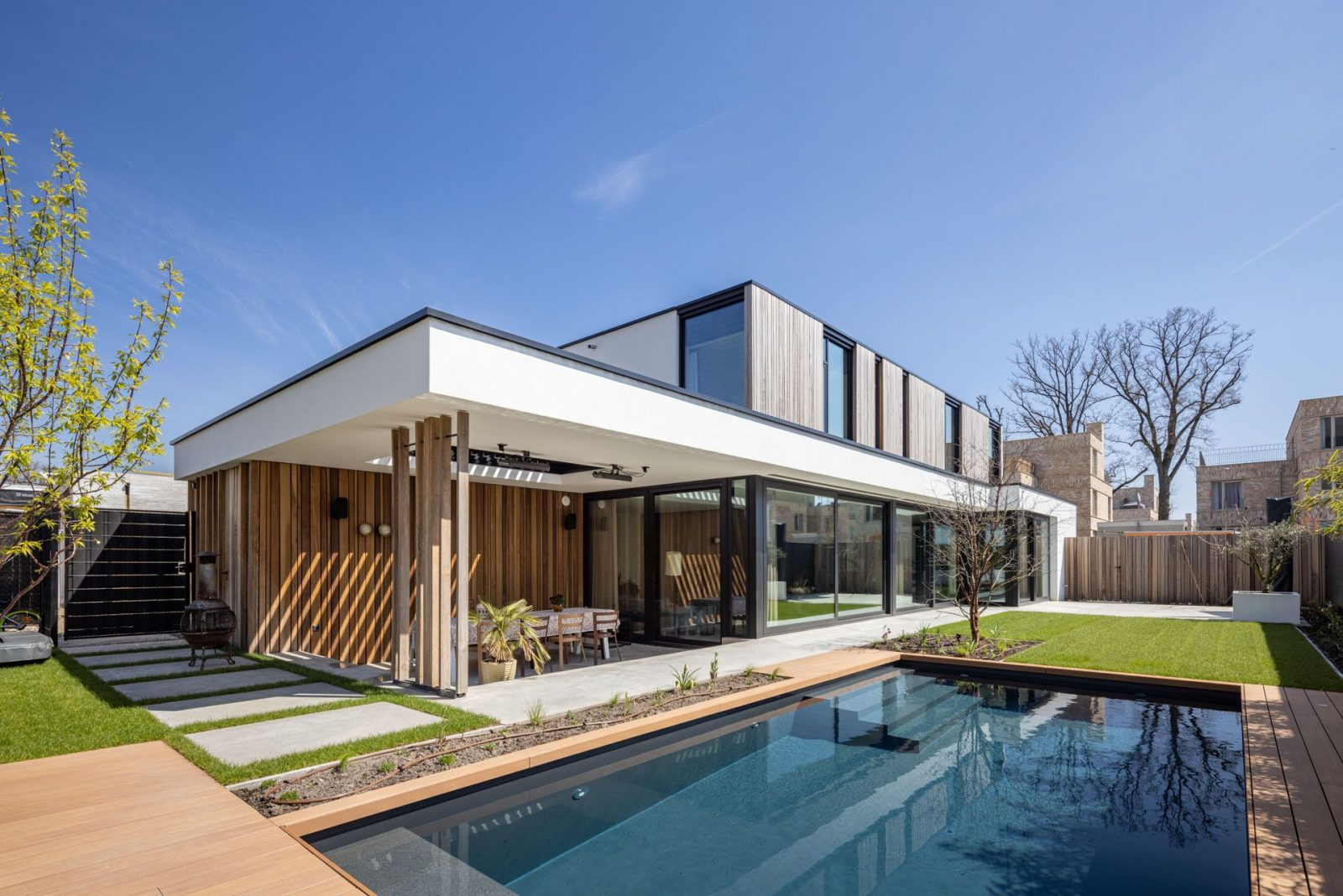 Luxe bungalow woning